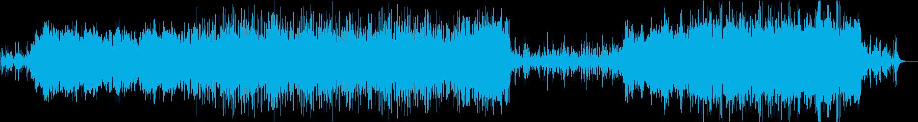 【映像】冷たい、cool、ベルのBGMの再生済みの波形