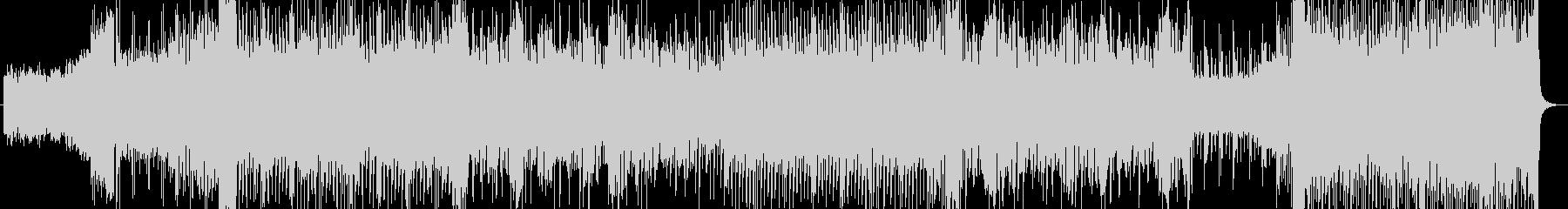 ダークなハウス調の未再生の波形