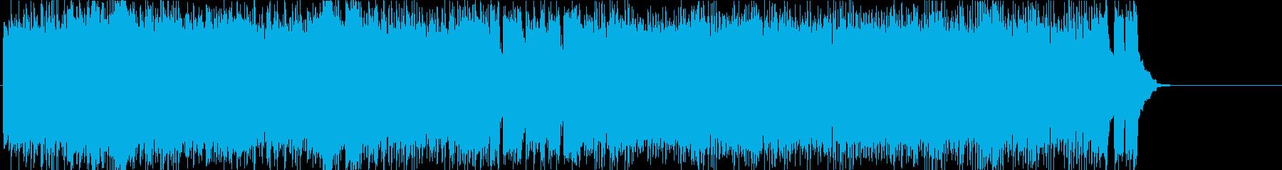 スピード 挑戦 闘志 激しい スリルの再生済みの波形