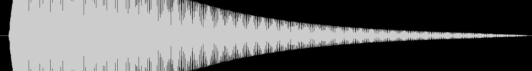 打撃 ぐらつき歪み01の未再生の波形