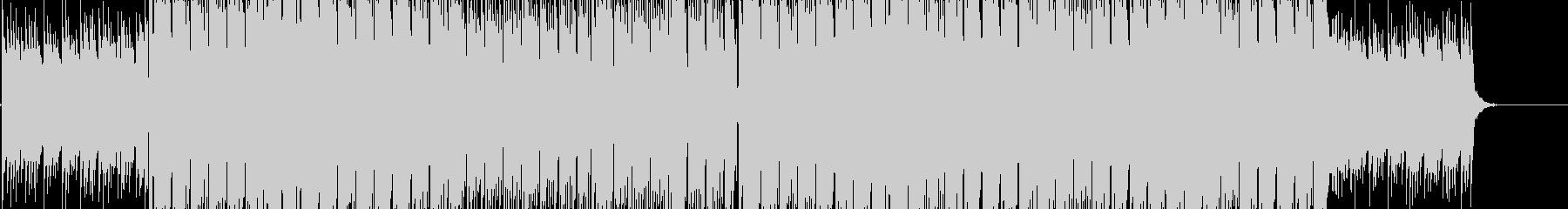 リズミカルポップBGMの未再生の波形