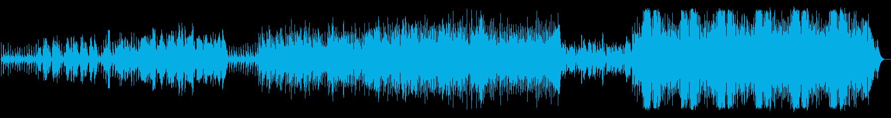 ブロードウェイミュージカル風希望の歌の再生済みの波形