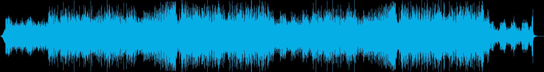 クールで少し切ないFuture Bassの再生済みの波形