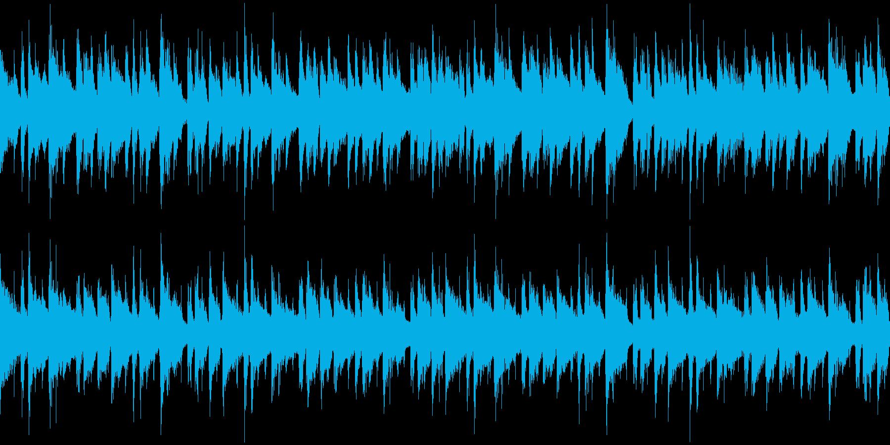 爽やか・おしゃれボサノバ/ループの再生済みの波形