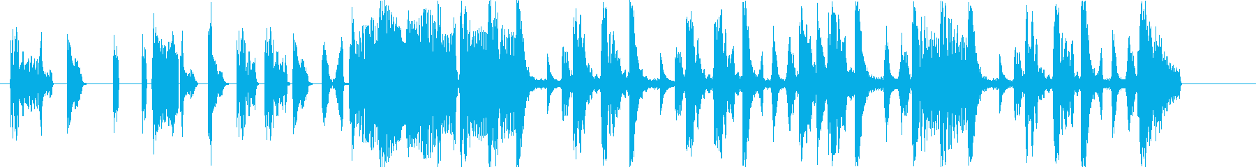 ヒューマンビートボックスジングルの再生済みの波形