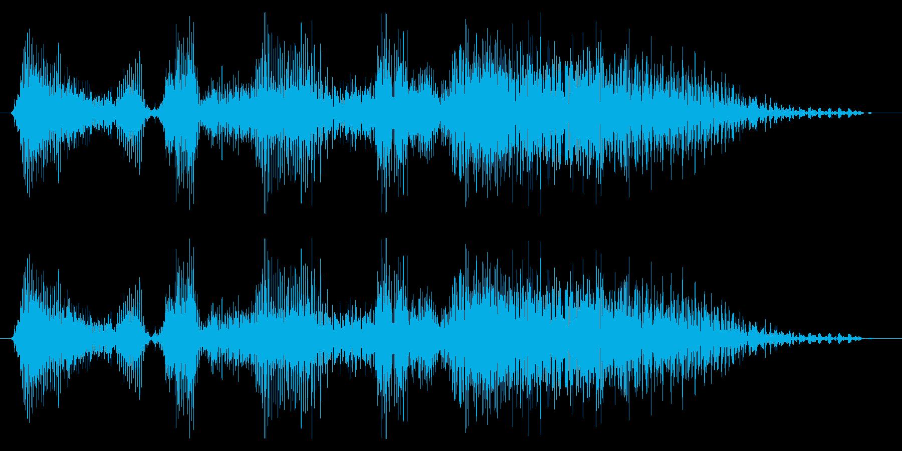 ドラゴン モンスター ゲーム 勝利時の再生済みの波形