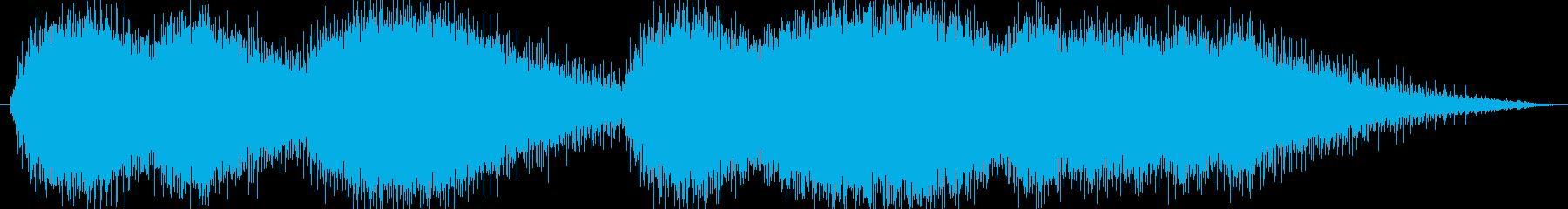 機械 ジグソーエンジンシーケンス01の再生済みの波形