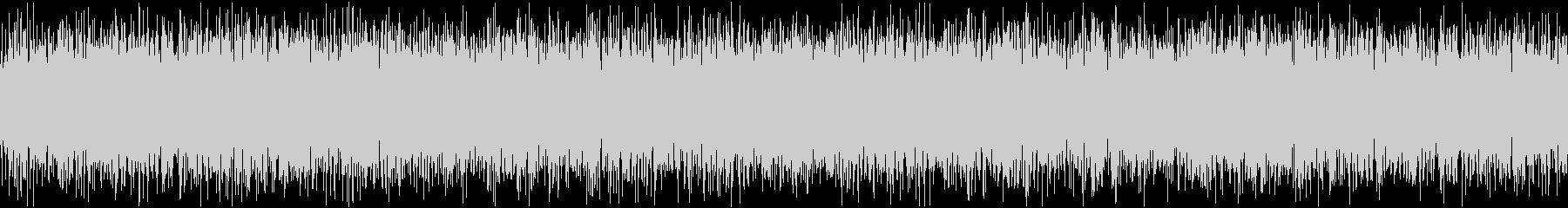 ザァー(AMラジオのノイズA)ループ処理の未再生の波形