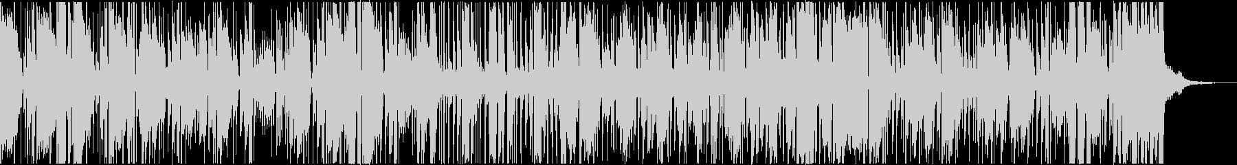 声をフィーチャーしたクールなヒップホップの未再生の波形