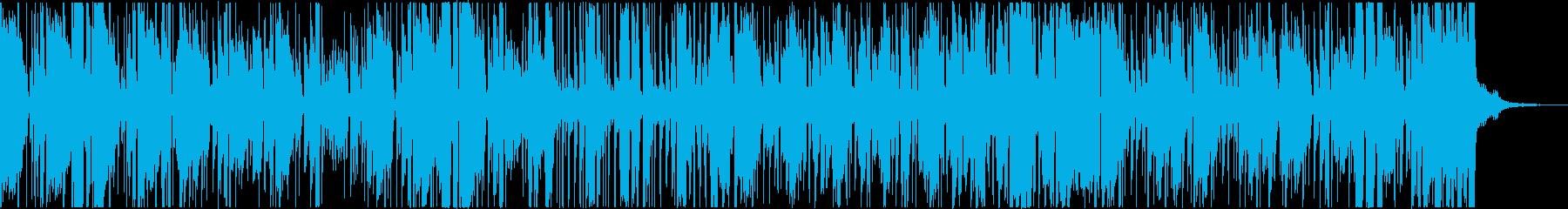 声をフィーチャーしたクールなヒップホップの再生済みの波形