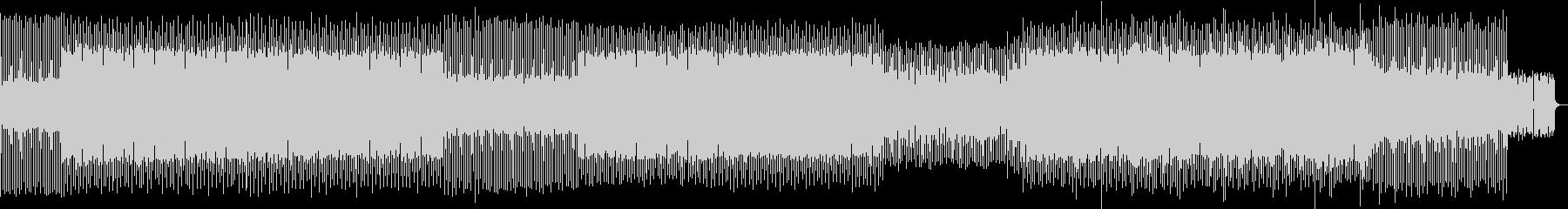 アグレッシブで楽しいミニマルテクノの未再生の波形