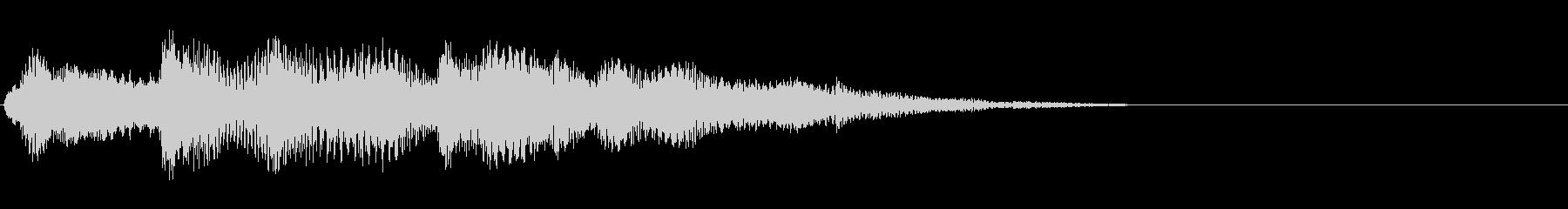 ソフトパックシンセアクセントとグーグル3の未再生の波形