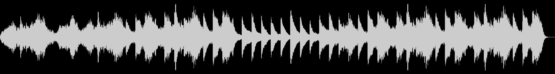 アンビエント環境音楽BGMの未再生の波形