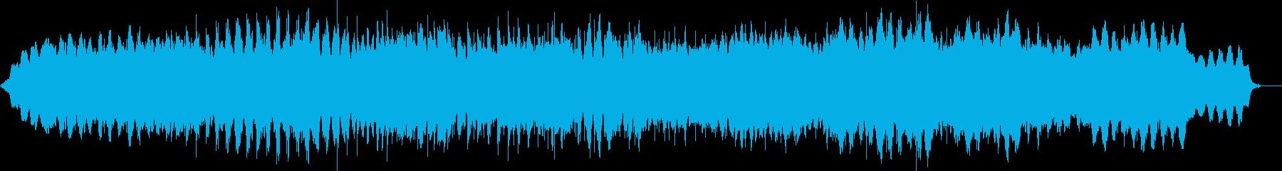 メロディを排除したヒーリング曲528Hzの再生済みの波形