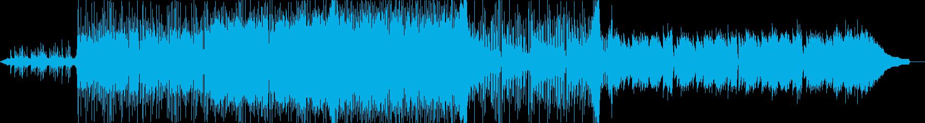 壮大な歴史を彷彿させる民族楽器を使った曲の再生済みの波形