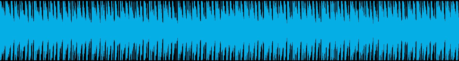 中〜アップテンポのデジタル溝入れ。...の再生済みの波形
