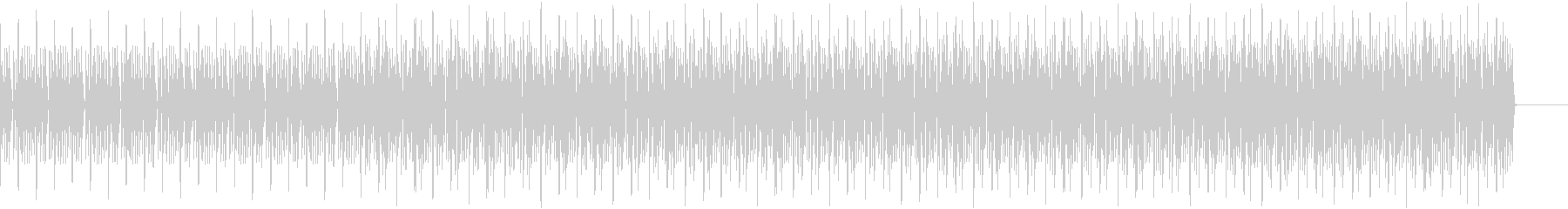 動画 何かをやってみた ときのBGMの未再生の波形