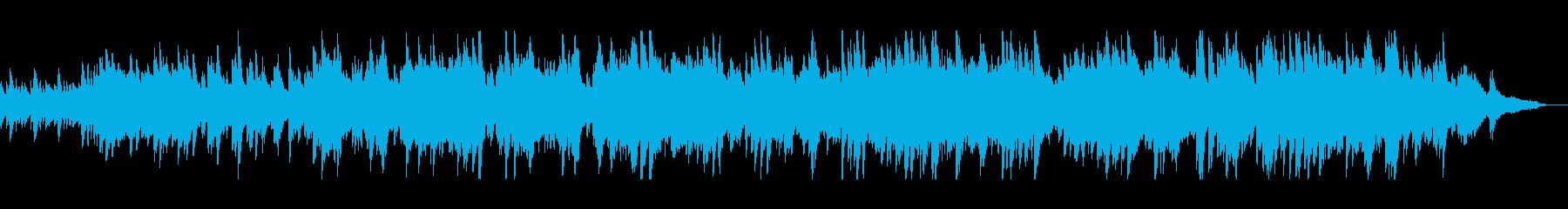 優しい音色のピアノの調べの再生済みの波形