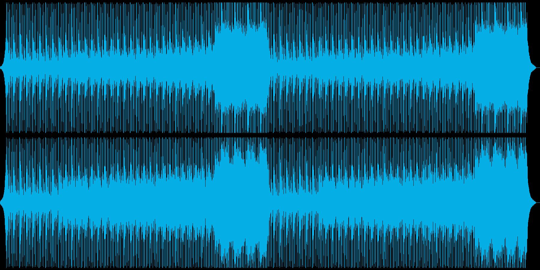 企業VPに!ピアノも爽やかテクノポップLの再生済みの波形