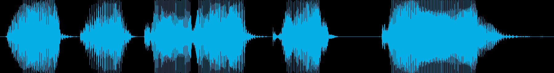 お宝ゲット!の再生済みの波形