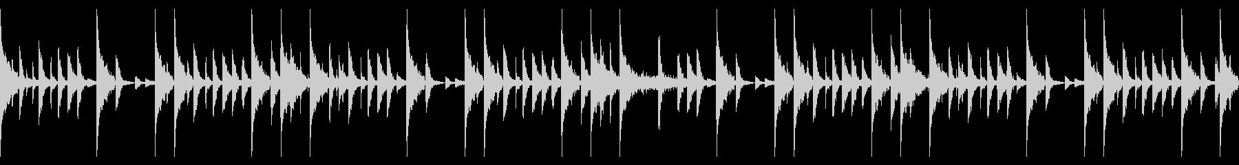 95 BPMの未再生の波形