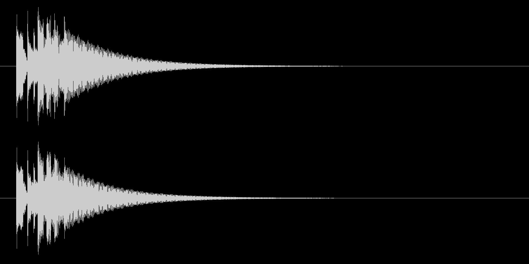 グロッケン02-3(高 長)の未再生の波形