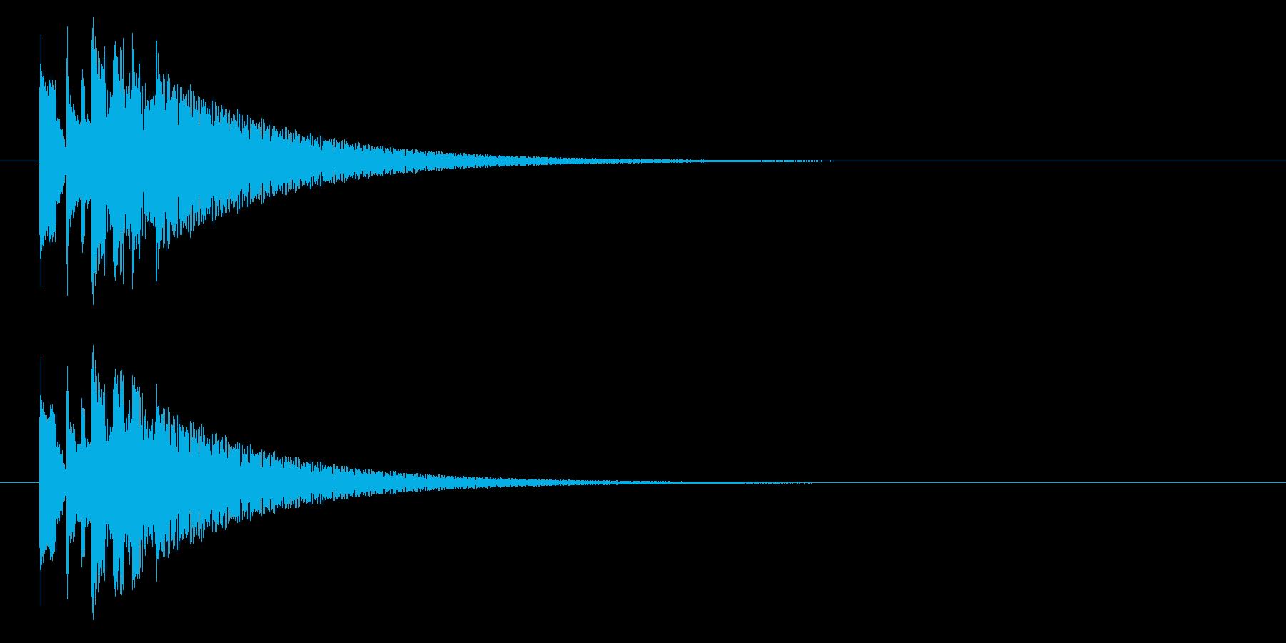 グロッケン02-3(高 長)の再生済みの波形