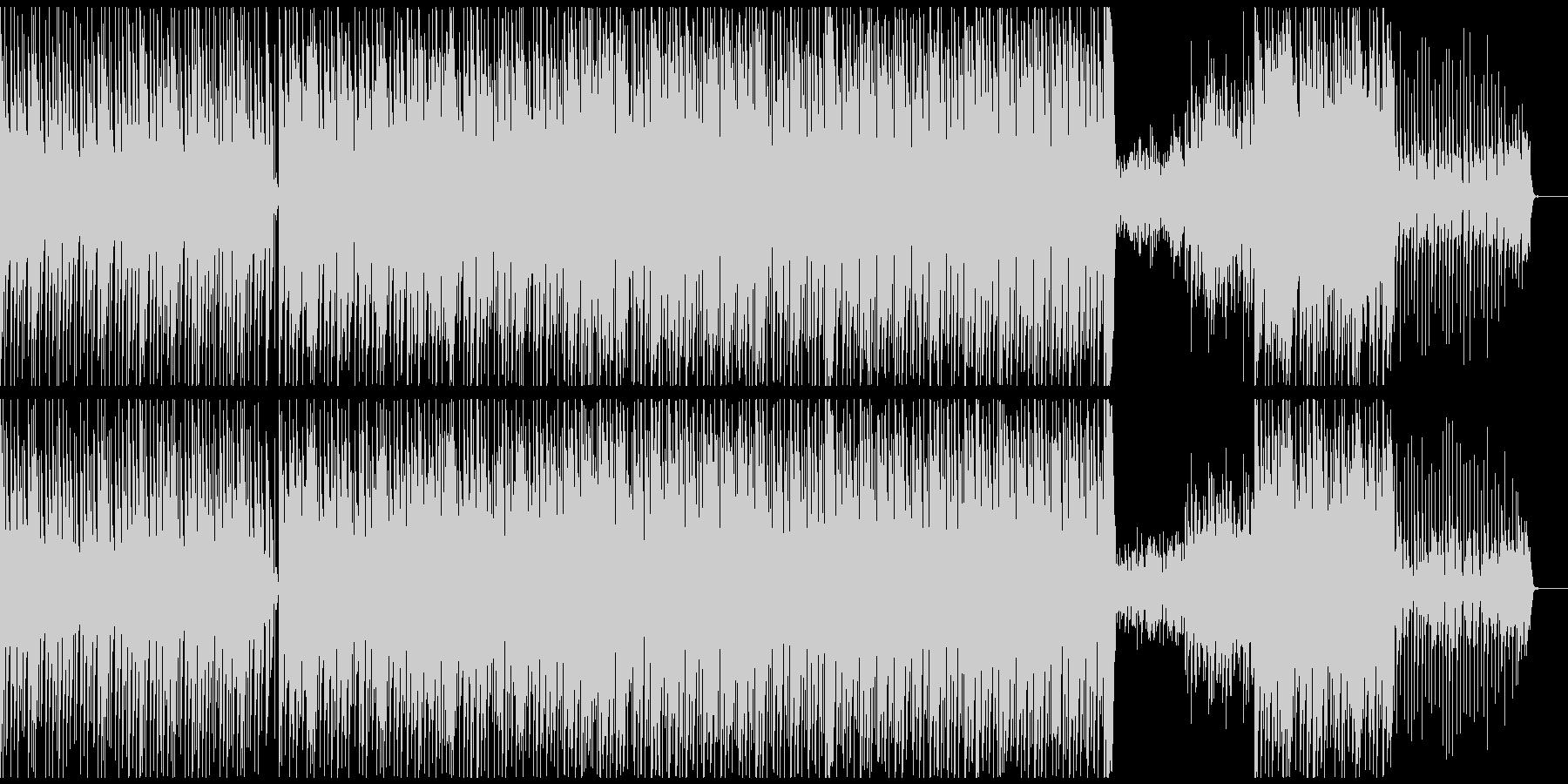 エレギター生演奏スムースジャズの未再生の波形