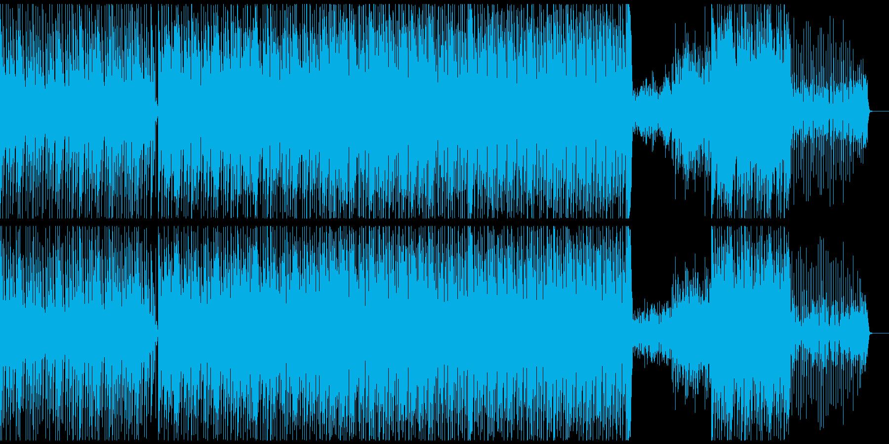 エレギター生演奏スムースジャズの再生済みの波形