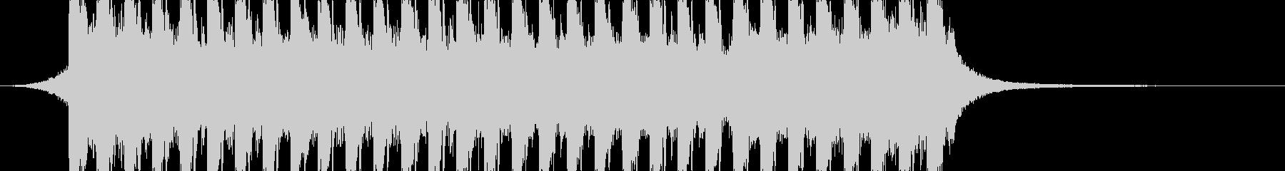Tropical House 3の未再生の波形
