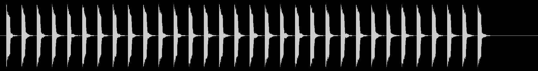 心電図の音-4-8(BPM110)の未再生の波形