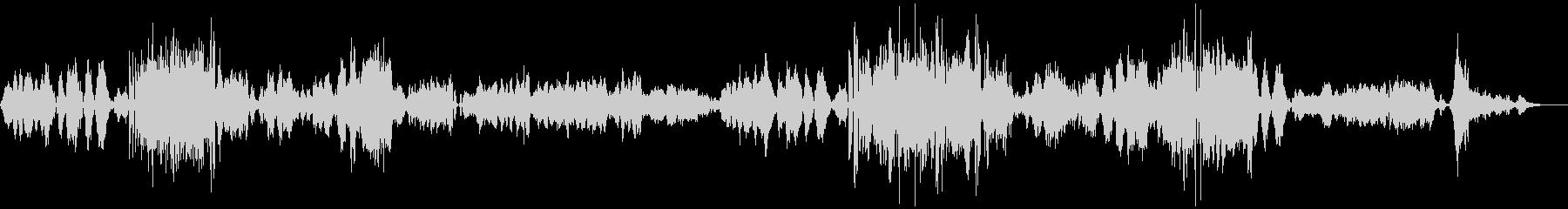 ブラームス/ヴァイオリン・ソナタ3-1の未再生の波形