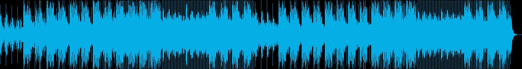 静かでノリのいいトロピカルハウス の再生済みの波形