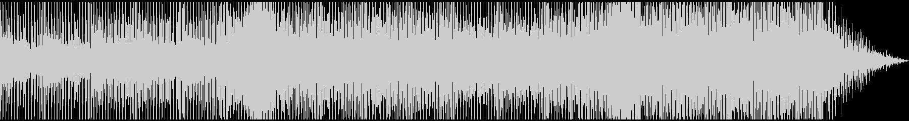 ほのぼのとしたチルアウトの未再生の波形