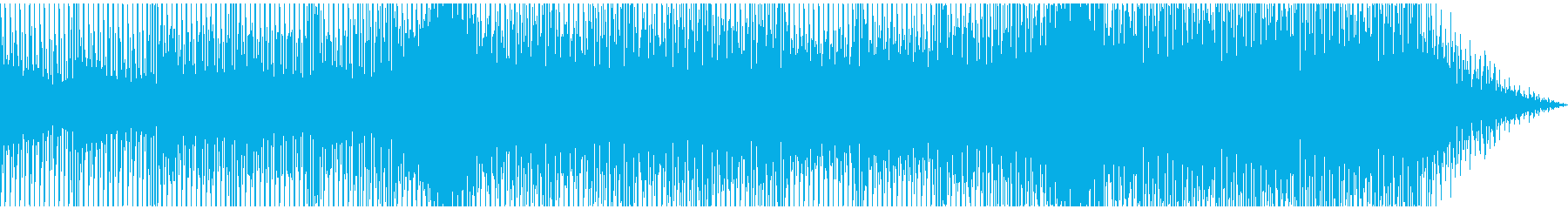 ほのぼのとしたチルアウトの再生済みの波形