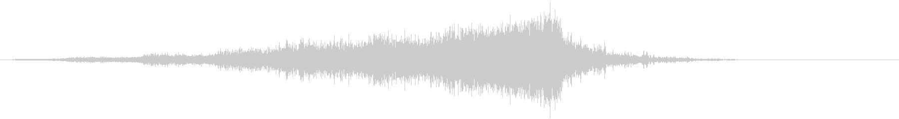 【ライザー】13 ホラーサウンド 接近の未再生の波形