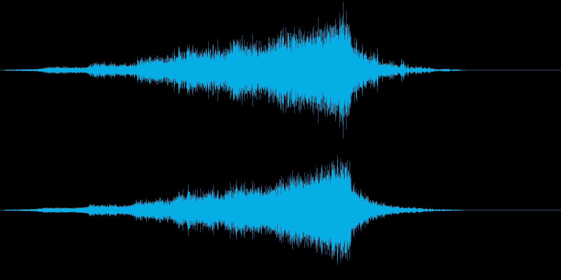 【ライザー】13 ホラーサウンド 接近の再生済みの波形