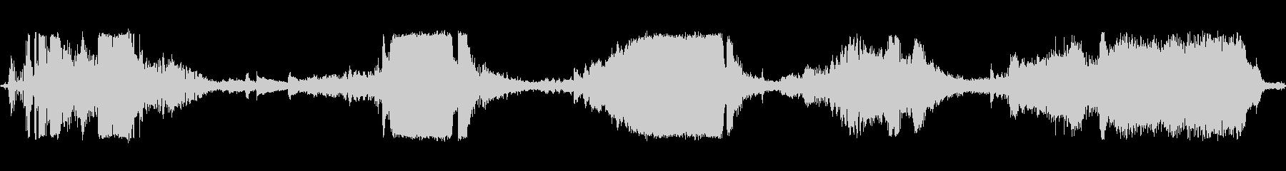 M-38アーミージープ:スタート、...の未再生の波形