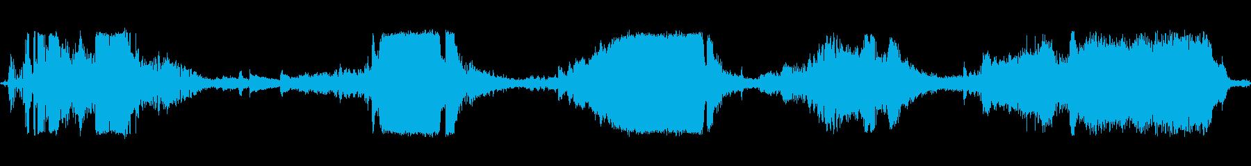 M-38アーミージープ:スタート、...の再生済みの波形