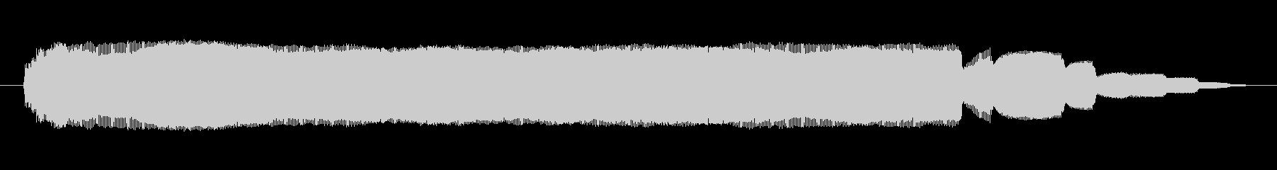 シンセサイザー 金属オルガンハイ01の未再生の波形