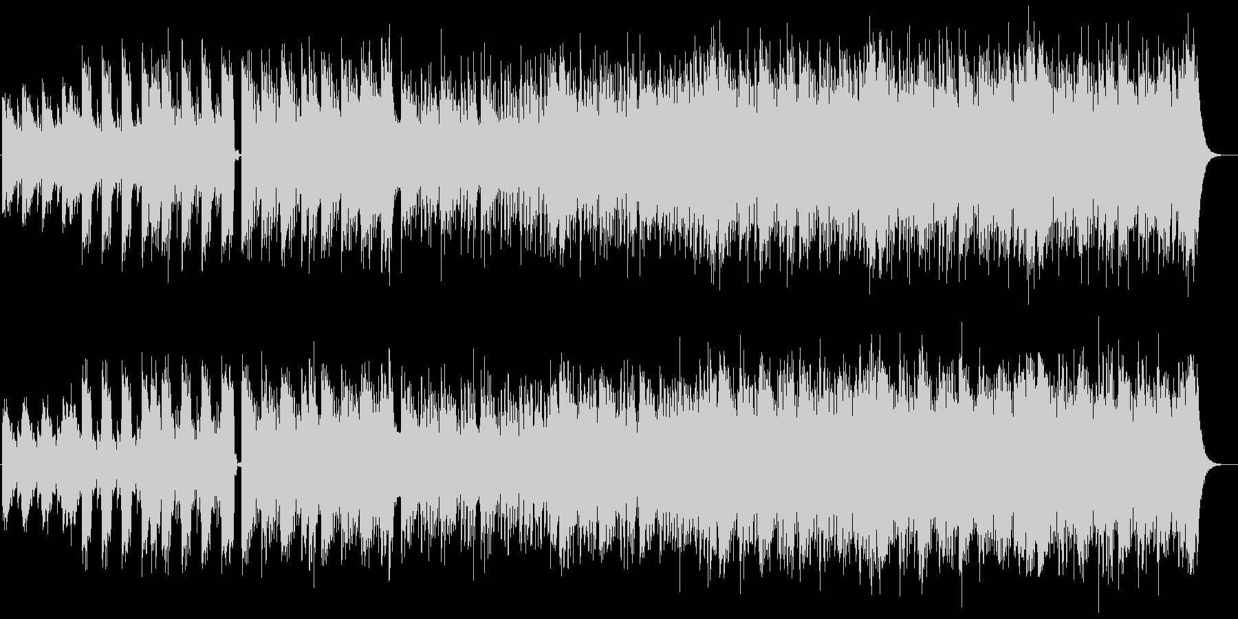 シンセ主導のクールなミニマルダブの未再生の波形