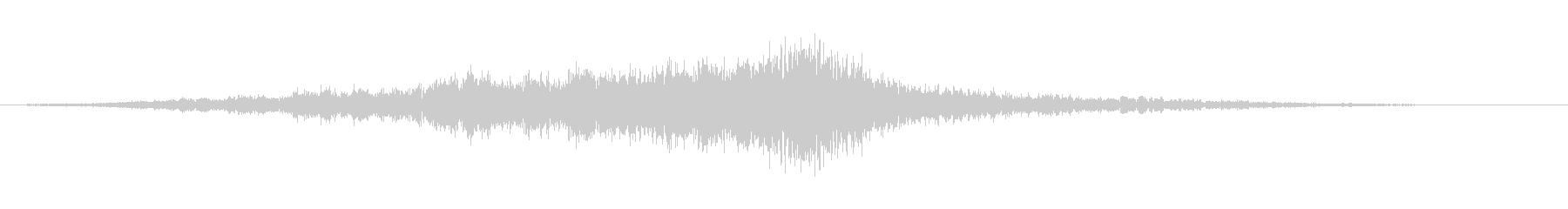 ドップラーパスの未再生の波形