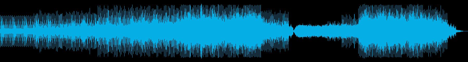 <テクノ>危険が迫る・カーチェイスの再生済みの波形