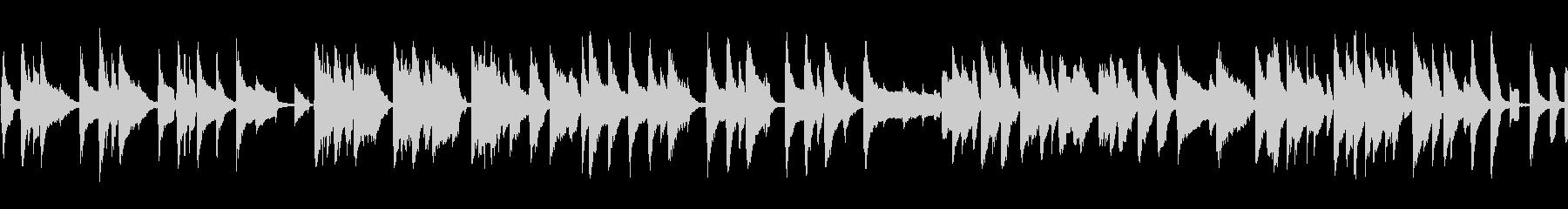 Cartoon ピアノ 木琴 バン...の未再生の波形