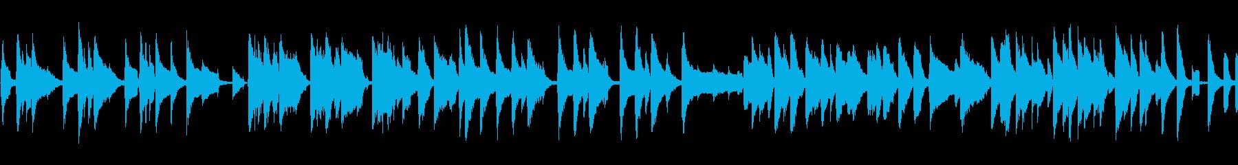 Cartoon ピアノ 木琴 バン...の再生済みの波形