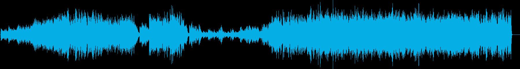 情熱的なピアノトリオ(ジャズ)の再生済みの波形