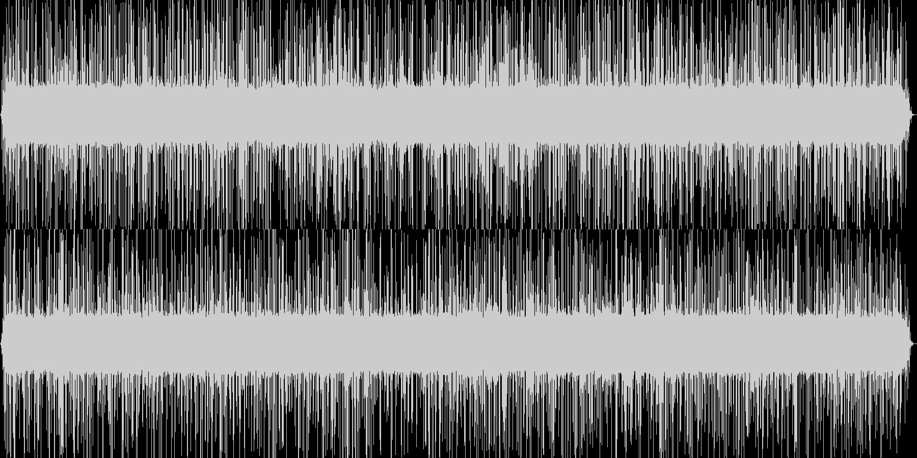 5分間の激しい雨音・ザーの未再生の波形