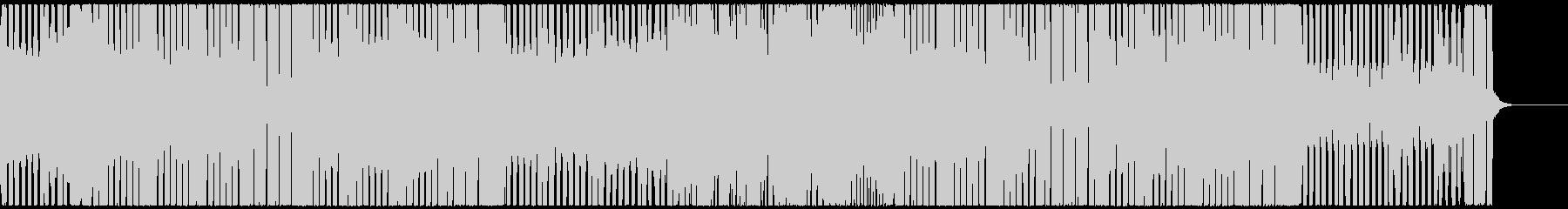 軽快でポジティブなEDMハウス CM映像の未再生の波形