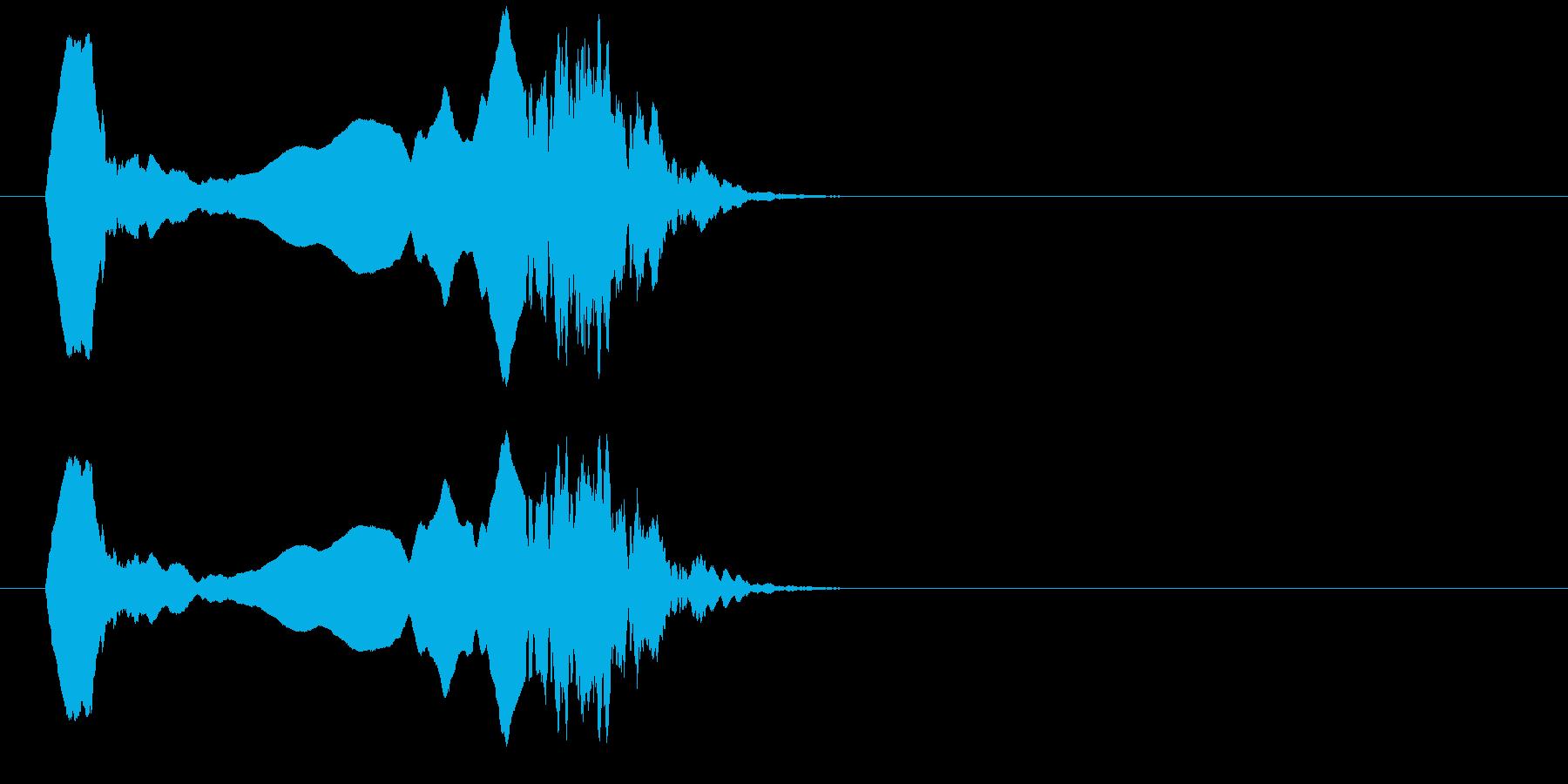 フレンチホーンモチーフ;衝撃的なモ...の再生済みの波形