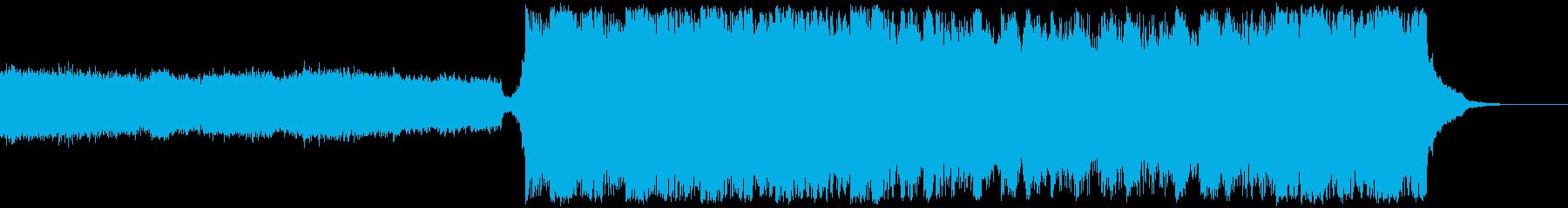 緊迫・EPIC・オケの再生済みの波形